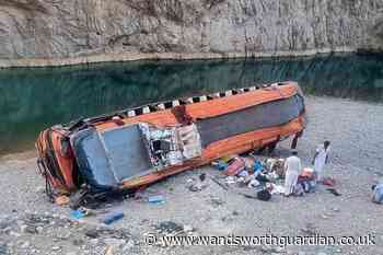 20 killed after bus plunges into ravine in south-west Pakistan - Wandsworth Guardian