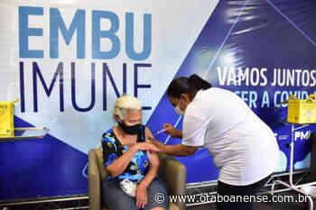 Embu das Artes aplicou a primeira dose de vacinas contra covid em mais de 59 mil pessoas - Portal O Taboanense