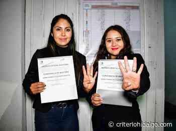Recibe Juana Vanesa Escalante constancia en Tizayuca - Criterio Hidalgo