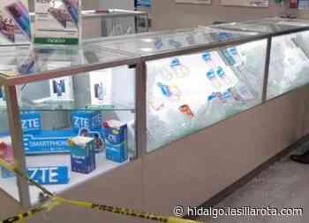 Asaltan tienda departamental en Tizayuca; extraen celulares y electrónicos - La Silla Rota
