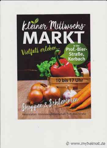 Termine Für den Kleinen Mittwochs-Markt in Korbach 2021! - Korbach - myheimat.de - myheimat.de