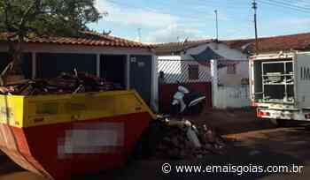 Acidente em obra mata idoso de 72 anos em Itumbiara - Mais Goiás