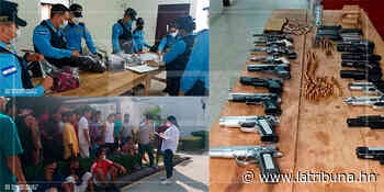 Frustran amotinamiento armado en el Centro Penitenciario Nacional de Támara - La Tribuna.hn