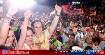 ¡El pueblo decidió! Gobernará Carmen Lilia Canturosas en Nuevo Laredo - Hoy Tamaulipas