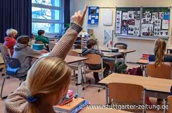 Bildung und Betreuung in der Coronakrise - 15 000 Coronafälle an Schulen in Baden-Württemberg - Stuttgarter Zeitung