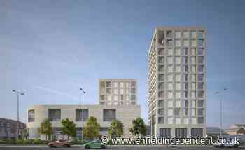 Plan for blocks up to 12 storeys at Enfield supermarket site