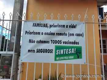 Professores de Sapucaia do Sul cobram vacina para o retorno presencial na segunda-feira - Jornal VS