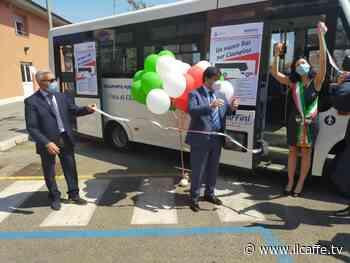 Inaugurato a Ciampino un nuovo bus munito di pedana per disabili - Il Caffè.tv