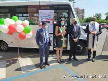 Ciampino – Inaugurato nuovo automezzo del Trasporto Pubblico Locale. Ballico: 'Soddisfatta della nuova e moderna unità' - Castelli Notizie