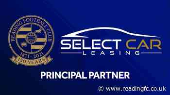 🤝 Select Car Leasing become new Principal Partner of Reading Football Club