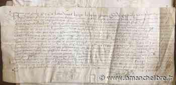 Avranches. De vieux manuscrits familiaux acquis par la Ville à Lolif - la Manche Libre