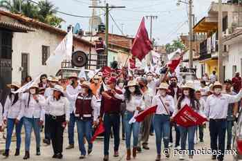 No vamos a defraudar al pueblo de Churintzio: Alejandra Pimentel - PCM Noticias