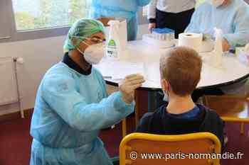 Covid-19. À Notre-Dame-de-Gravenchon, coup d'envoi des tests salivaires à l'école - Paris-Normandie