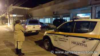 Equipe de fiscalização encerra festa clandestina em Miracema - Serra News