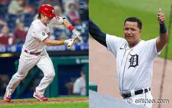 Novato de los Phillies igualó récord de Miguel Cabrera con su primer jonrón - El Fildeo