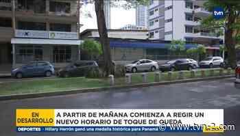 Toque de queda en Panamá y San Miguelito aumenta este lunes - TVN Panamá