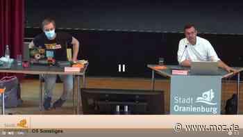 Protokolle der Ausschüsse: Untersuchungsausschuss lehnt Zugriffsrecht der Oranienburg Holding ab - moz.de