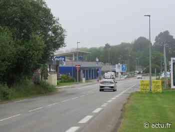 Quimper : importants travaux route de Brest dans la zone de Gourvily - actu.fr