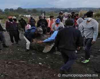 Se tensa ambiente en la colonia El León de Atlixco - Municipios Puebla