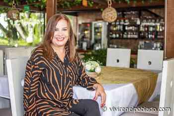 Marcela Obando es propietaria del restaurante Al Patio - Vivir en el poblado