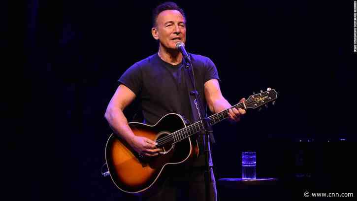 Bruce Springsteen is reviving his Broadway show and audiences must be fully vaccinated to rock - CNN