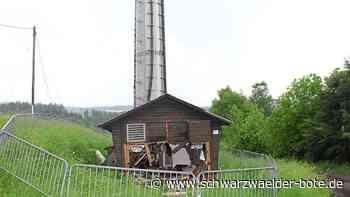 Anlage bei Unfall zerstört - 25-Jähriger legt Mobilfunknetz in Altensteig lahm - Schwarzwälder Bote