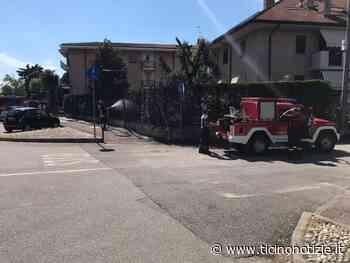 Magenta: siepe in fiamme in una palazzina di viale Piemonte - Ticino Notizie