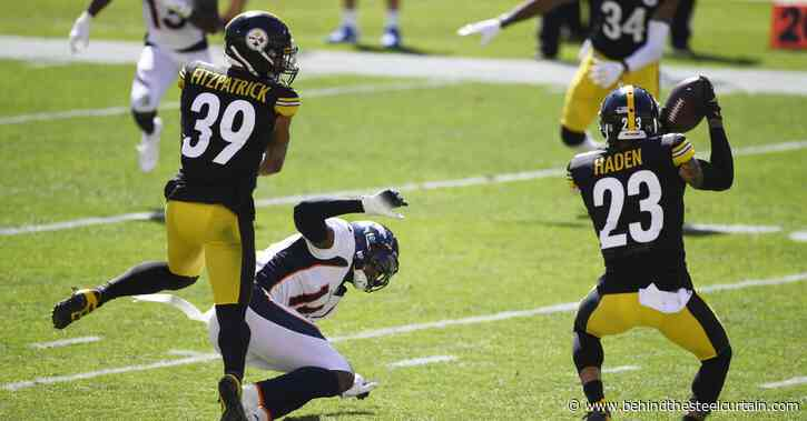 Pro Football Focus ranks the Steelers secondary around the middle of the NFL