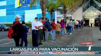 La prioridad en la vacunación que se efectúa en mall de Tocumen serán los voluntarios registrados - Telemetro