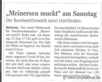 """"""" Meinersen muckt """"mal wieder - Lehrte - myheimat.de - myheimat.de"""