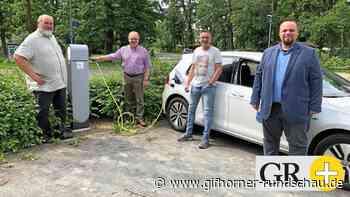 E-Ladesäule für zwei Autos am Kulturzentrum Meinersen installiert - Gifhorner Rundschau