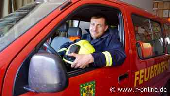 Feuerwehr in Dahme-Spreewald: Freiwillige Feuerwehr in Märkische Heide hat einen neuen Chef - Lausitzer Rundschau