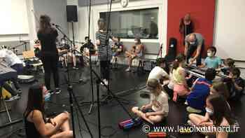 Courrières et Oignies : des élèves de CM2 en studio avant un concert au Métaphone - La Voix du Nord