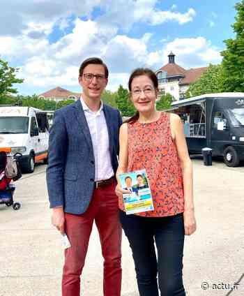 Elections départementales : à Torcy, le binôme Duvernois-Houdelette porte le mandat de la majorité - actu.fr