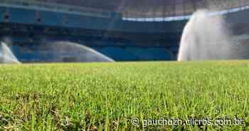 Acúmulo de jogos prejudica troca e preservação do gramado da Arena do Grêmio - GZH