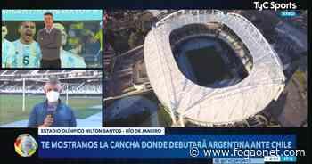 TV argentina visita estádio do Botafogo e destaca gramado ruim para a Copa América: 'Longe do ideal' - FogãoNET