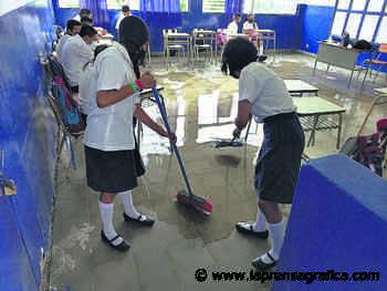 Solicitan reparar techo de escuela en Zacatecoluca - La Prensa Grafica