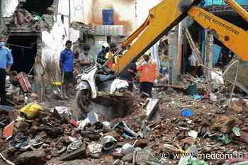 Foto 11 Meninggal Dunia akibat Robohnya Gedung di Mumbai - Medcom.Id