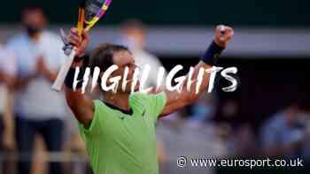 French Open tennis - Highlights: Rafael Nadal downs Diego Schwartzman to reach semi-finals for 14th time - Eurosport UK