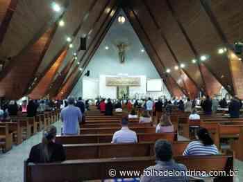 Fiéis de Londrina festejam o Sagrado Coração de Jesus Marcos Roman - Folha de Londrina