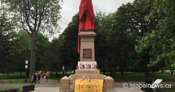 Indigenous group calls for removal of Kingston's Sir John A. Macdonald statue