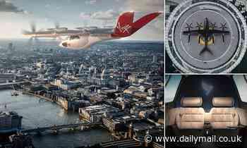 Virgin Atlantic and Rolls-Royce back £3 BILLION flying car rollout