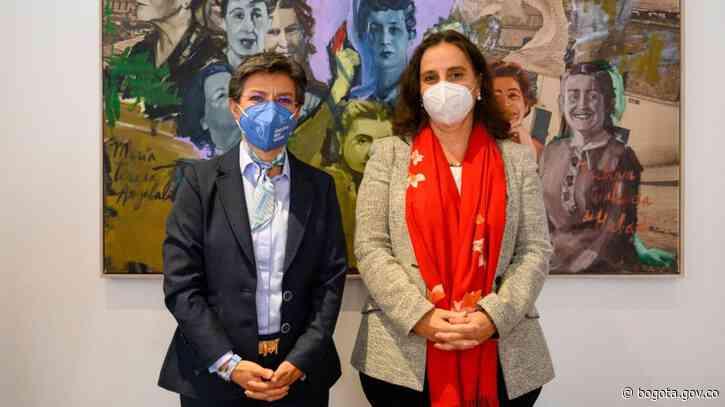 Claudia López recibe visita de presidenta de la CIDH - Alcaldía de Bogotá