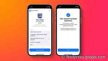 Apple allows refund requests for in-app purchases directly within apps with iOS 15