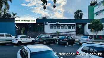 Após mais de 20 anos, Sine tem novo endereço em Coronel Vivida - Diário do Sudoeste