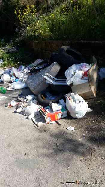 Carini, abbandono rifiuti: sindaco contro il silenzio dell'ex Provincia - Tele Occidente