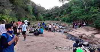 Jóvenes de San Pedro disfrutaron del 5º Trekking - Jujuy al día