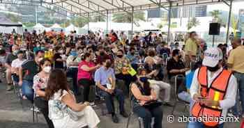 Aplican segunda dosis contra covid a mayores de 50 en San Pedro - ABC Noticias MX