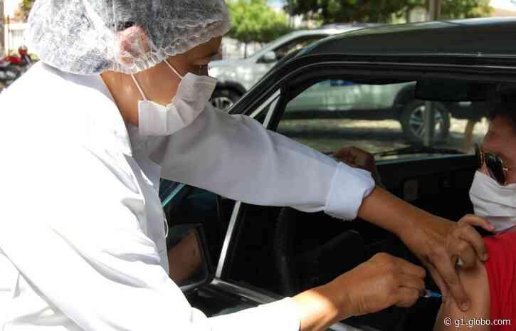 Teresina vacina população de 54 e 55 anos contra a Covid-19 neste sábado (12) - G1
