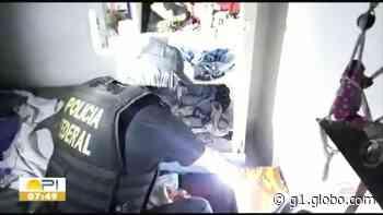 PF cumpre mandados em Teresina contra facção suspeita de tráfico de armas - G1